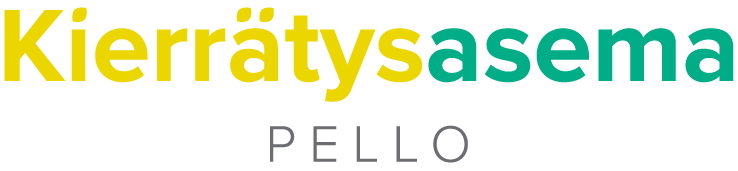 Kierrätysasema Pellon logo.