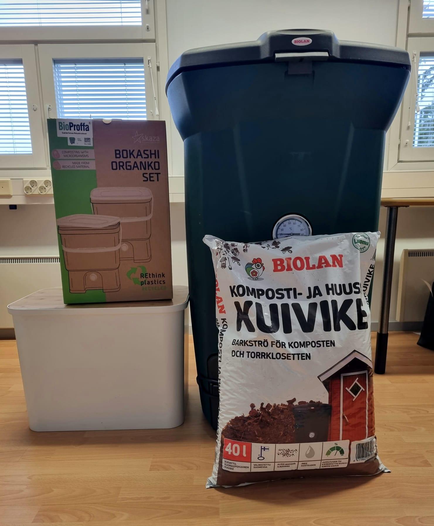 Kompostin palkinnot